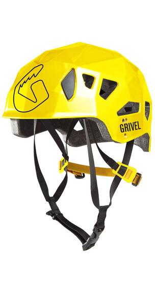 Grivel Stealth Hardshell Helm geel/grijs